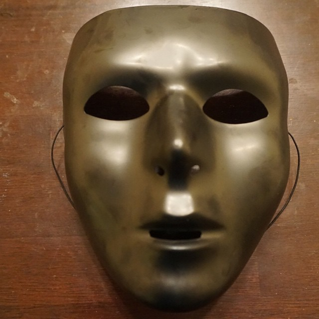 The Game of Sand (Film) (theater) Show Mask by Jamaal R. James for  James Creative Arts And Entertainment Company.