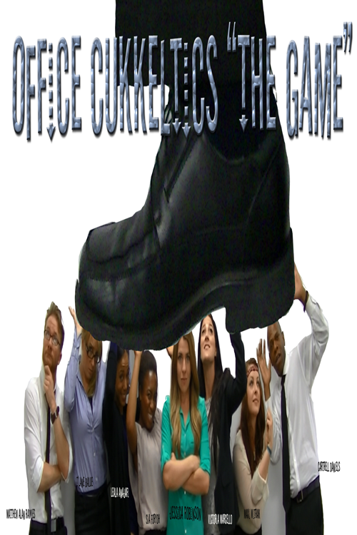 Office Cukkeltics: The Game directed by Jamaal R. James for James Creative Arts And Entertainment Company, starring Jessica Robinson, Duane Weekly, Cartrell Daniels, T'Lane Balue, Sia Foryoh, Maxi Witrak, Matthew Alan Rawles, Leala Anajafi, Victoria Marcello.