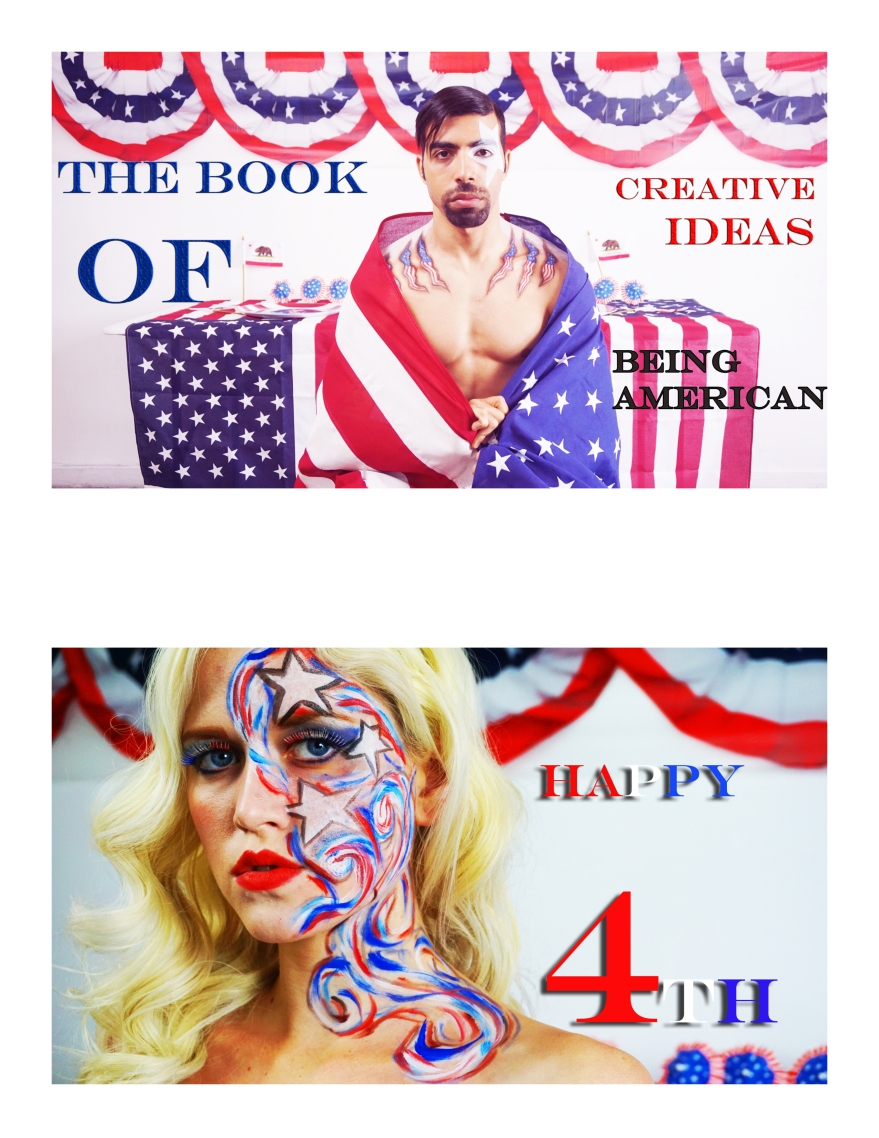 The Book Of Creative Ideas: Adult Edition, 4th of July, June Edition, Ancilla Deval, Mohab Henein, created by Creative Director Jamaal R. james for James Creative Arts and Entertainment Company.
