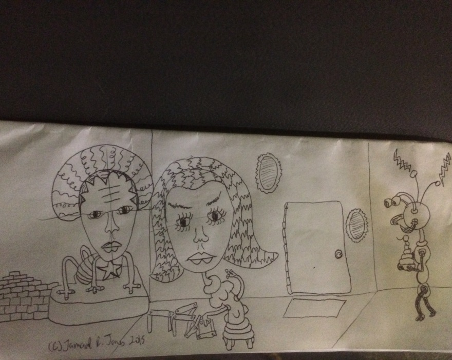 Art Doodle 3 by Cartoonist Jamaal R. James for James Creative Arts And Entertainment Company.