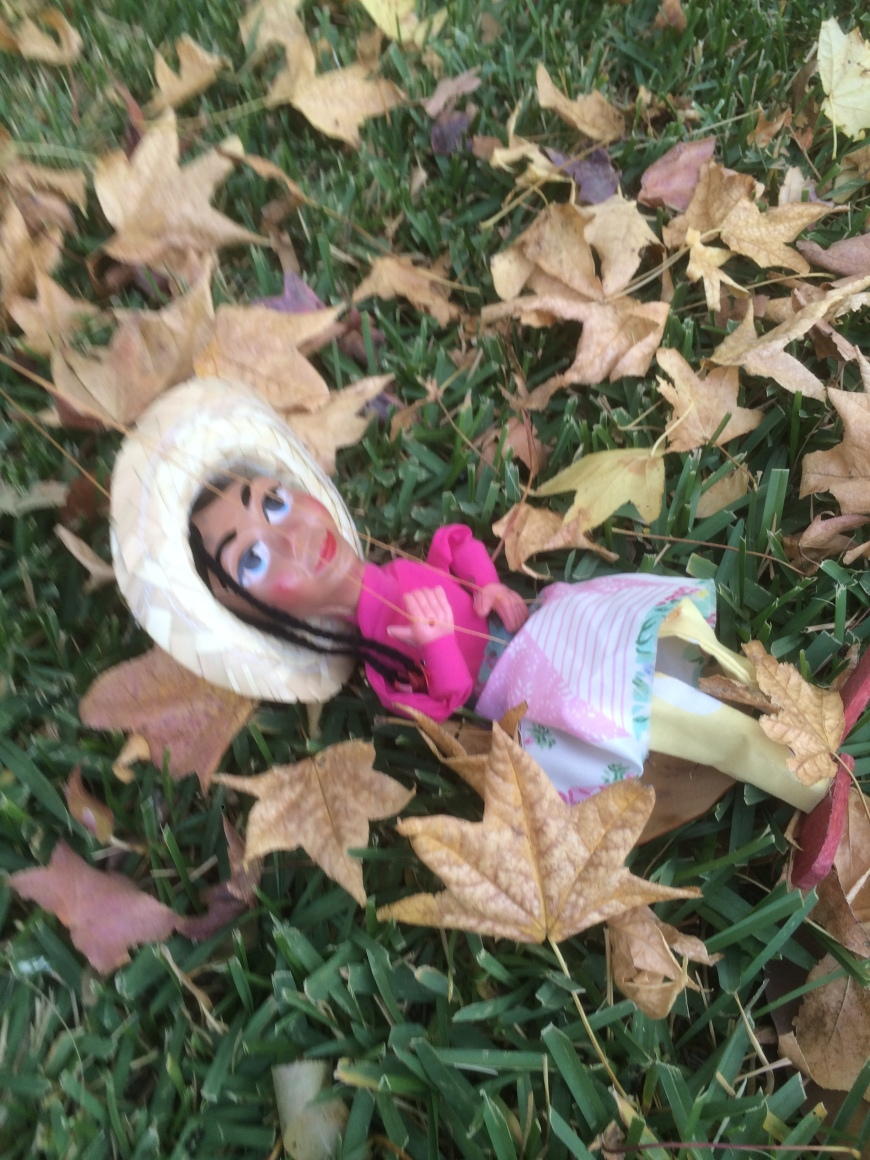 Return of the Bad Guy Puppet Show created by Visionary Film Director Jamaal R. James for James Creative Arts And Entertainment Company. Valerie is relaxing and enjoying the leaves in the fall....