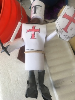 Knights Templar puppet by Film Director Jamaal R. James for James Creative Arts And Entertainment Company. stopmotion
