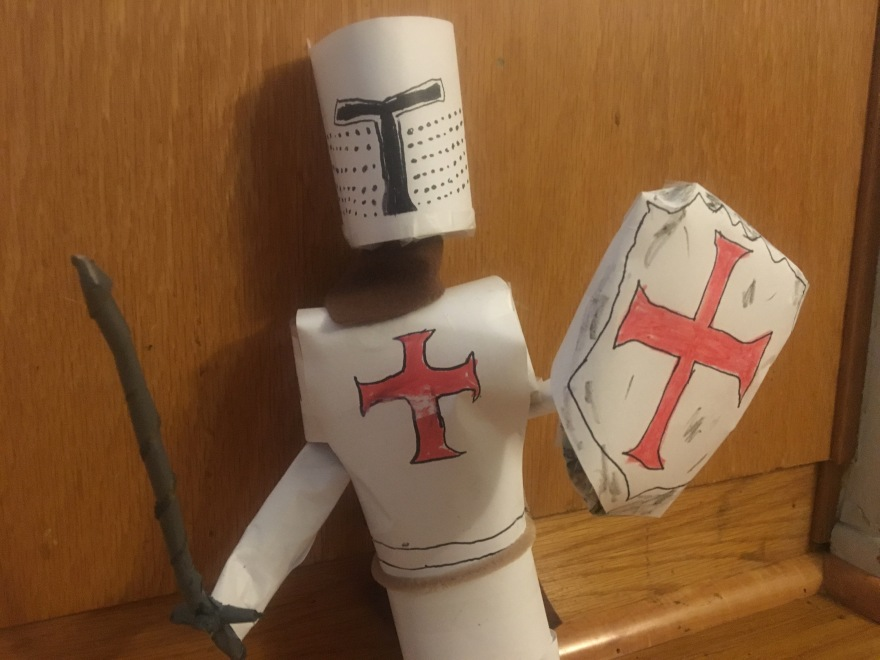 Knights Templar Stopmotion puppet by Film Director Jamaal R. James for James Creative Arts And Entertainment Company. cinema pelicula