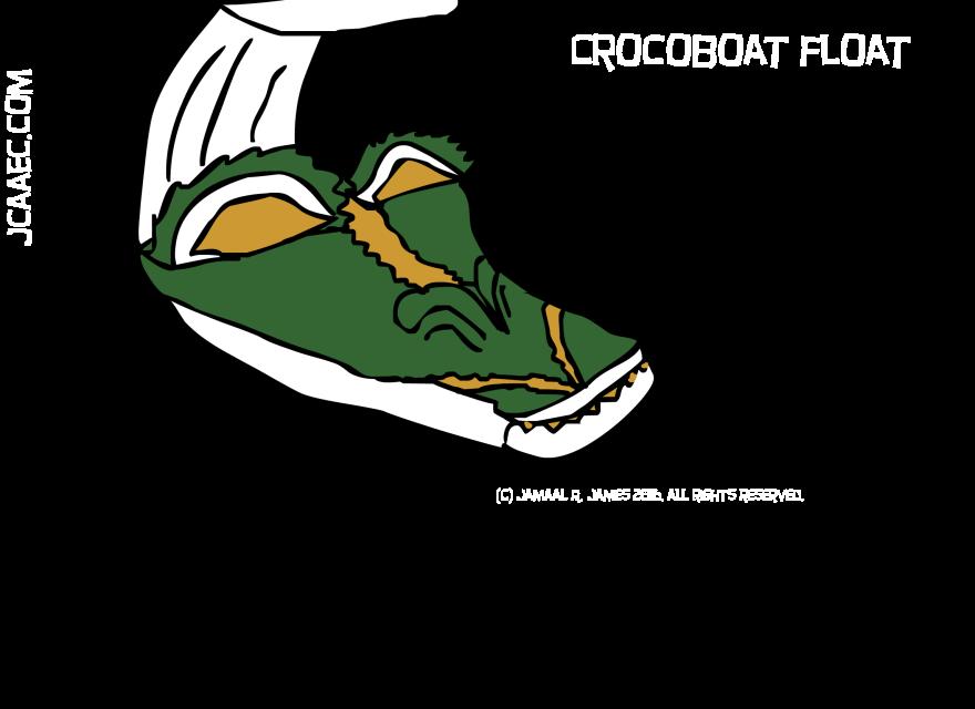crocoboatfloat