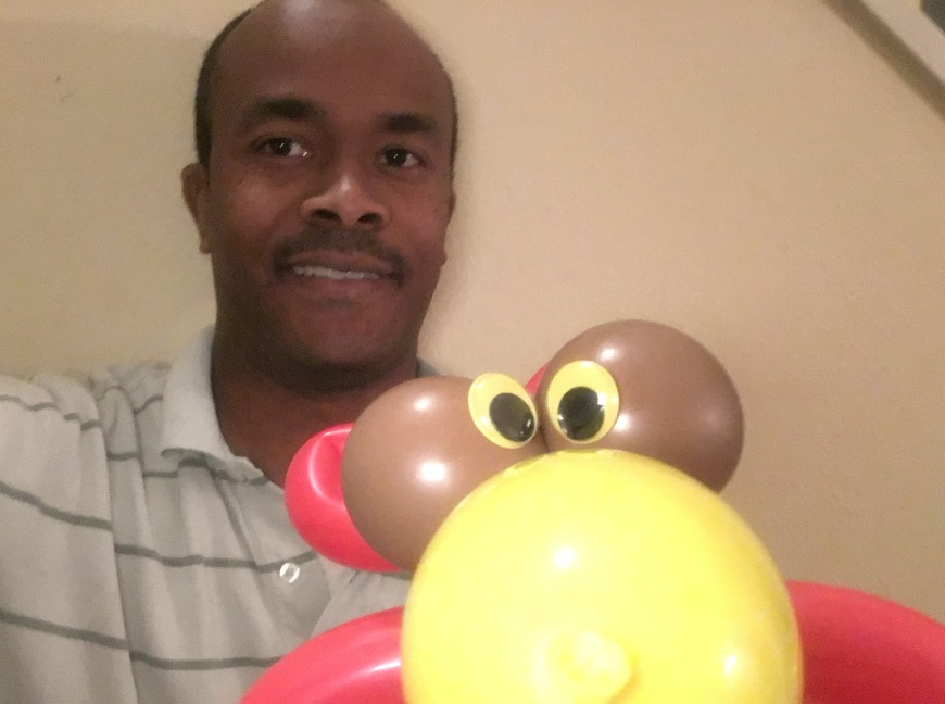 Birdbee Balloon Art by Creative Director Jamaal R. James for James Creative Arts And Entertainment Company. children's entertainment