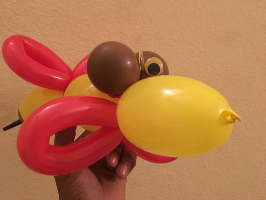Birdbee Balloon Art by Creative Director Jamaal R. James for James Creative Arts And Entertainment Company. children's entertainment