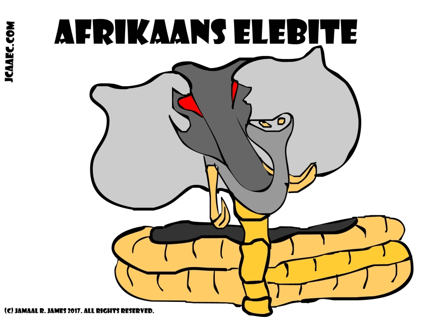 Afrikaans Elebite Concept development and character design creation for science fiction children's book by Creative Director Jamaal R. James for James Creative Arts And Entertainment Company. jcaaec