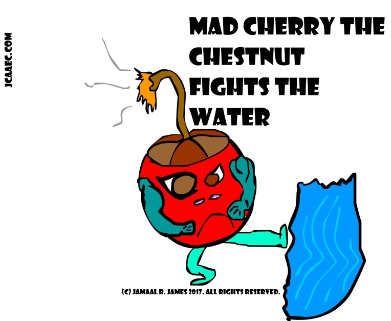 Mad Cherry Children's Book Concept art created by illustrator Jamaal R. James