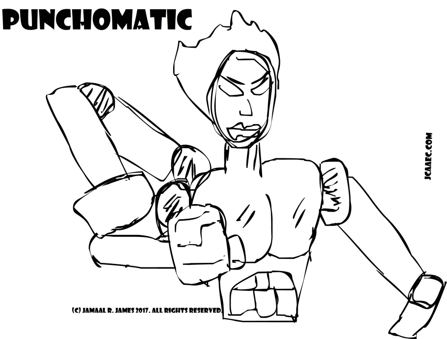 Drawing by Cartoonist Jamaal R. james