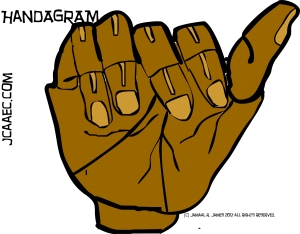 Handagram-james creative arts and entertainment company