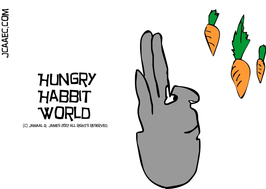 Hungry Habbit World by Creative Director Jamaal R. James