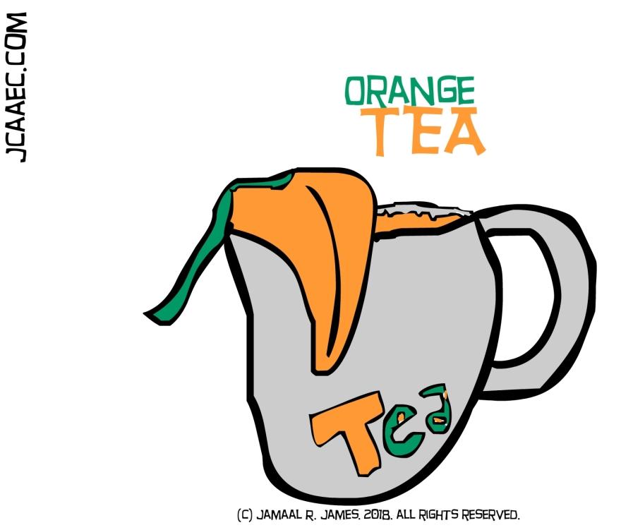 Cough Season -orange tea-james creative arts and entertainment company
