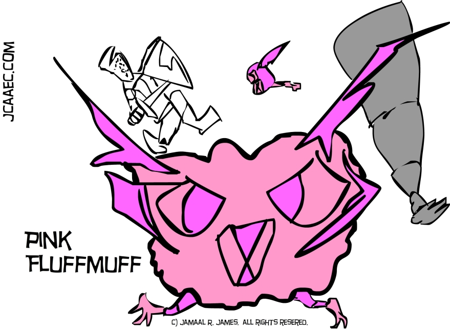 PinkFluffMuff-james creative arts and entertainment company-jcaaec-animation project