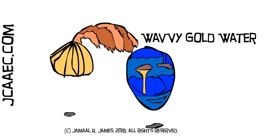 jcaaec-wavvy-blue-water-gold-character design