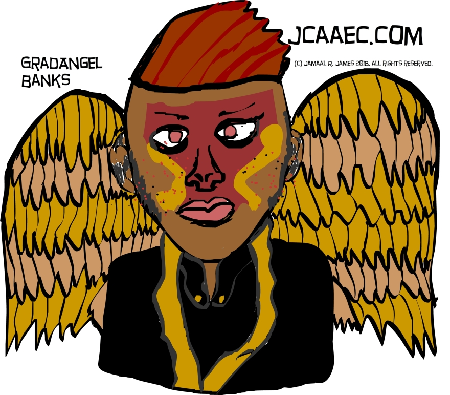 Angel drawing-jcaaec-character design-james creative arts and entertainment company