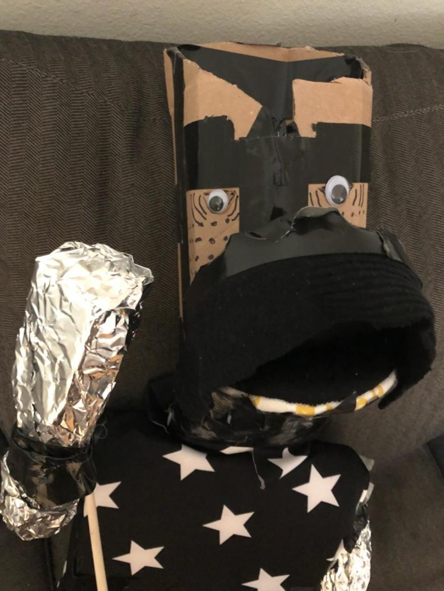 Puppetry-knightjones-knight in shining armor-jcaaec-james creative arts and entertainment company.