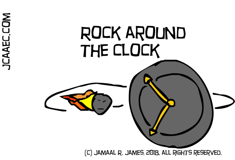 rock around the clock-james creative arts and entertainment company-jcaaec