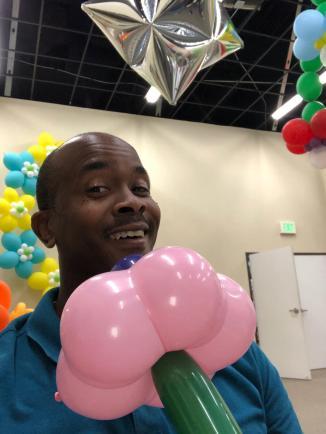 balloon art-magic flower-creative arts company-jcaaec