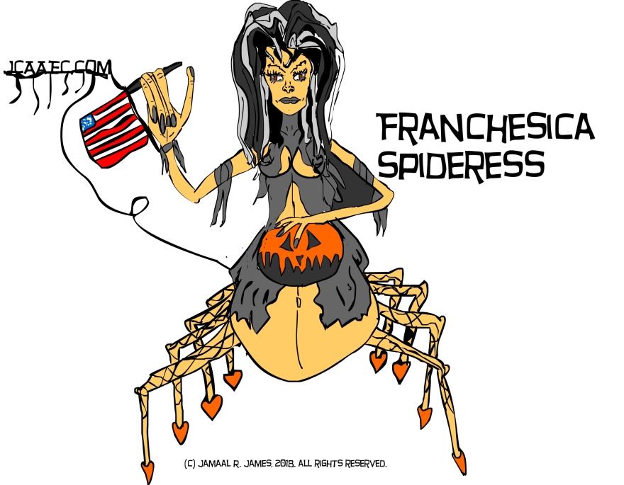 franchessica-spideress-thisisAmerica-jcaaec