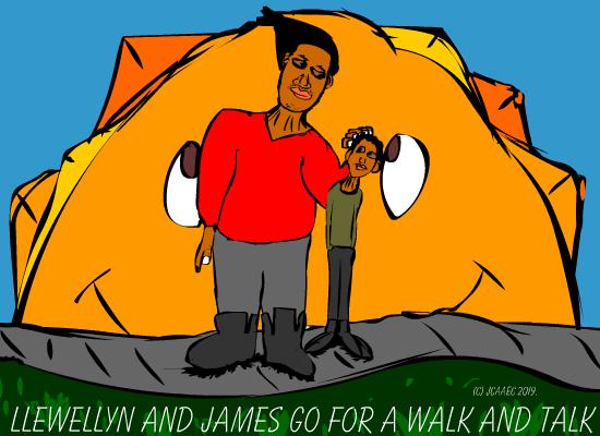 Llewellynandjamesgoforawalk-jcaaec-childrensbook-onthefactsoflife